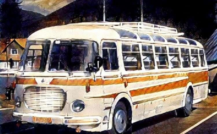 Pohádka o autobusu, který nechtěl do šrotu